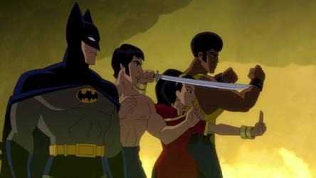 Batman Richard Shiva and Ben