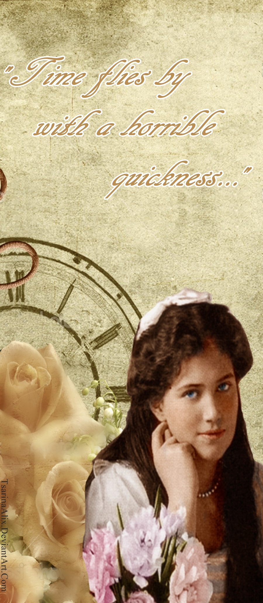 Maria's Time - Bookmark