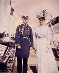 The Imperial Couple at the Standart