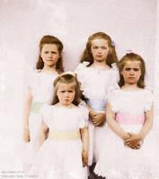 The Four Grand Duchesses by TsarinaAlix