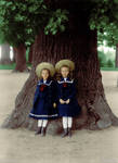 Two Girls Under The Tree. by TsarinaAlix
