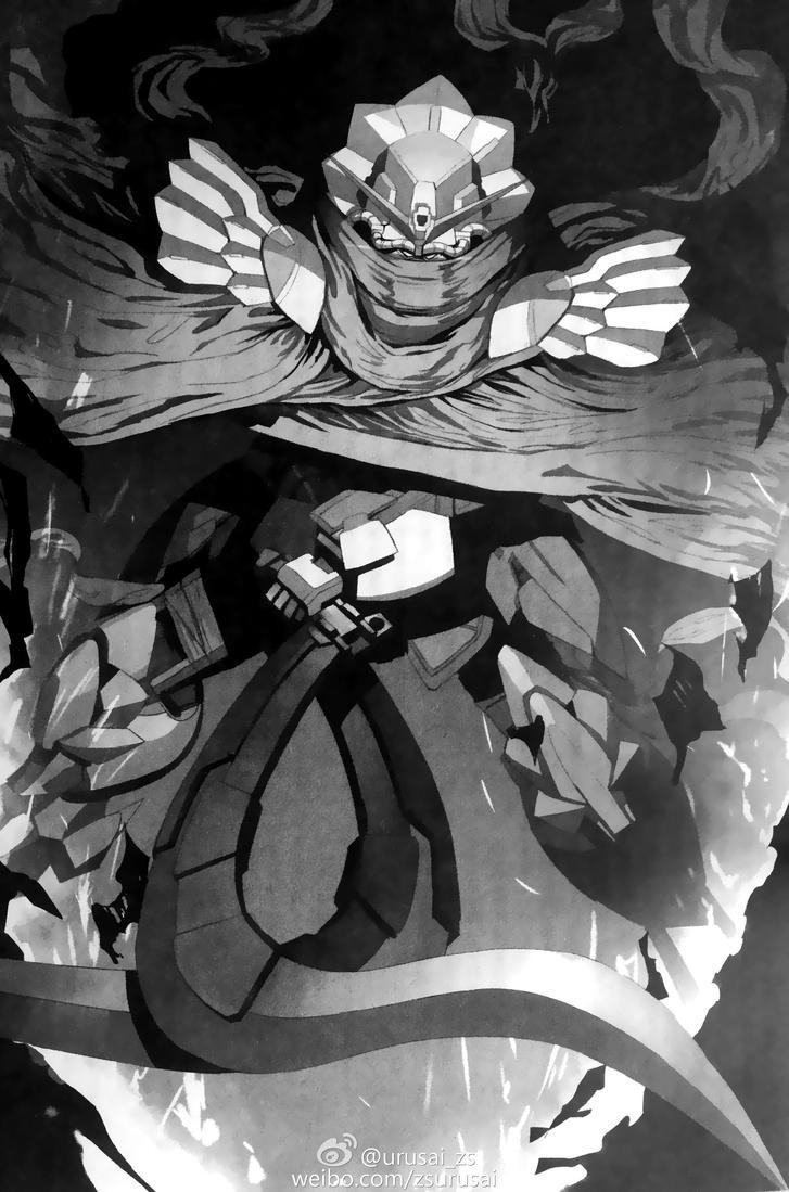 Gundam Schezerade (black and white) by azraelknightquest ...