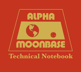 Alpha Moonbase Tech Notebook cover replica