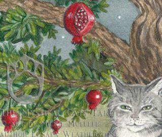 Mystical Cat Hermit Sneak Peek by mickiemueller