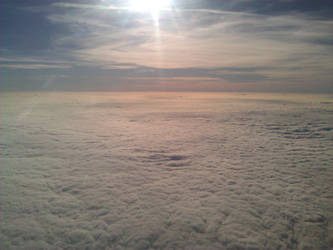 Cloudy Landscape by Jonamack