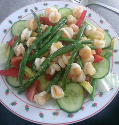 Prawn, mango and avacado salad by Jonamack
