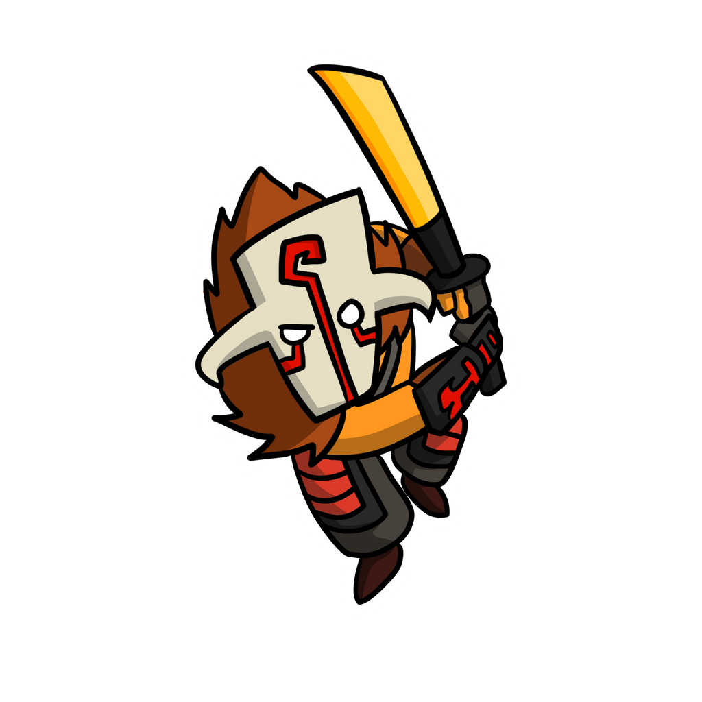 Juggernaut Sticker (Doujima 2017) by zacharychua
