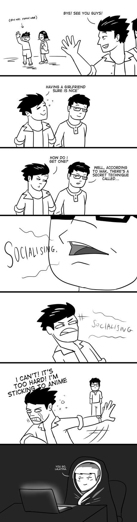 Socialising by zacharychua