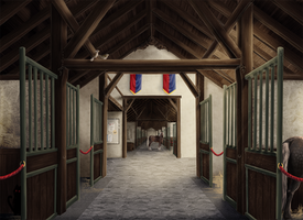 Stable Interior by Kartoffelpueh