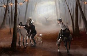 The Hunt by Kartoffelpueh