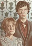 Color Meme: Mrs. Hudson and Sherlock
