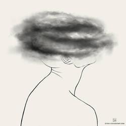 depression: brain fog by stvn-h