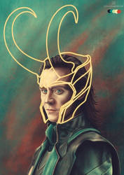 Color Meme: Loki by stvn-h