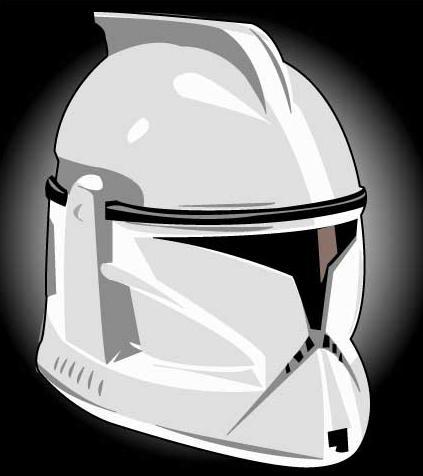Clone Trooper Helmet Vector Star Wars Clone Troope...