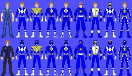 MMPR Blue Ranger: Billy by CWK34
