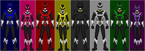 PRiS: Psycho Rangers + Extra
