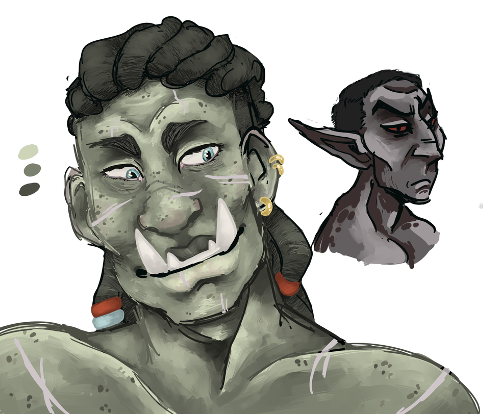 who  likes orcs by Inion-Revolution