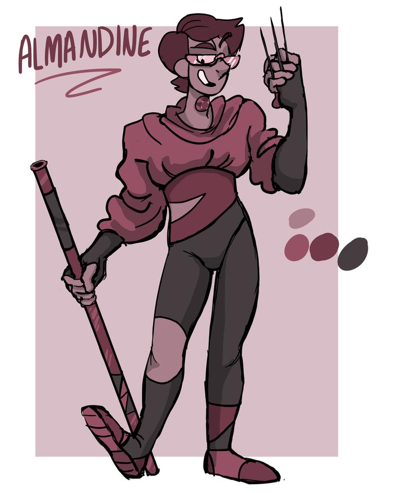 Almandine by Inion-Revolution