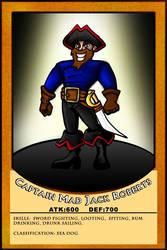 Captain mad jack card by IDROIDMONKEY