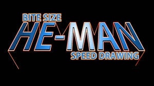 HE-MAN SPEED DRAWING THUMBNAIL +VIDEO by IDROIDMONKEY