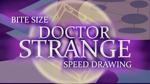 DOCTOR STRANGE SPEED DRAWING THUMBNAIL+VIDEO by IDROIDMONKEY