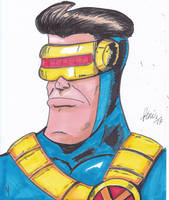 DOODLE CYCLOPS SPEED DRAWING +VIDEO by IDROIDMONKEY