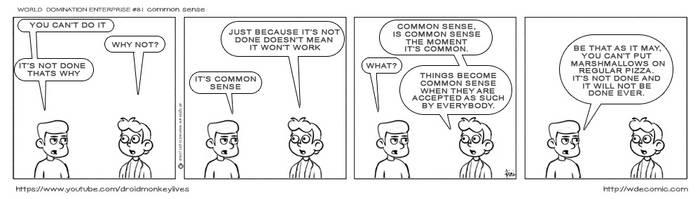 81. COMMON SENSE by IDROIDMONKEY