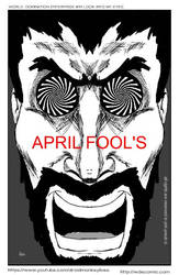 This was my april fool comic strip in my wde comic by IDROIDMONKEY