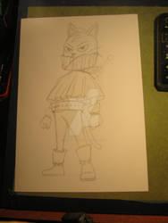Mao Meow sketch
