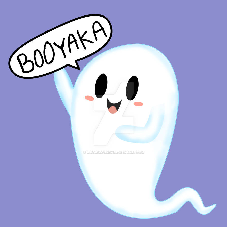 THE GHOST WHO SAY BOOYAKA  DESIGN