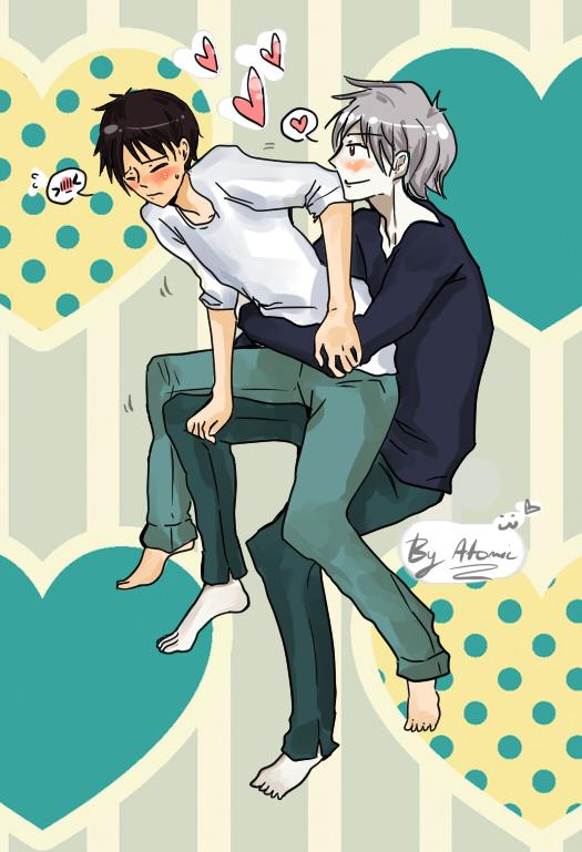 shinji and kaworu relationship trust