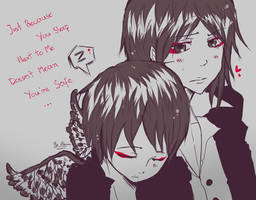 Junia and Shinia by AtomicKitten13