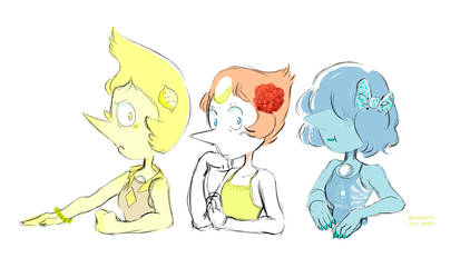 Summer Pearls Because I Feel Summer Time Sadness by AtomicKitten13