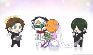 Gundam 00 - Happy Wedding