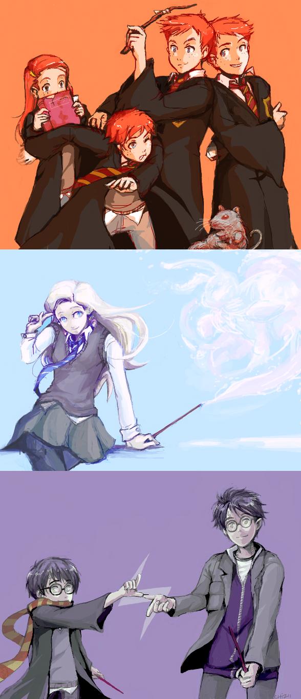 Tumblr Dump - Harry Potter by Chizuri