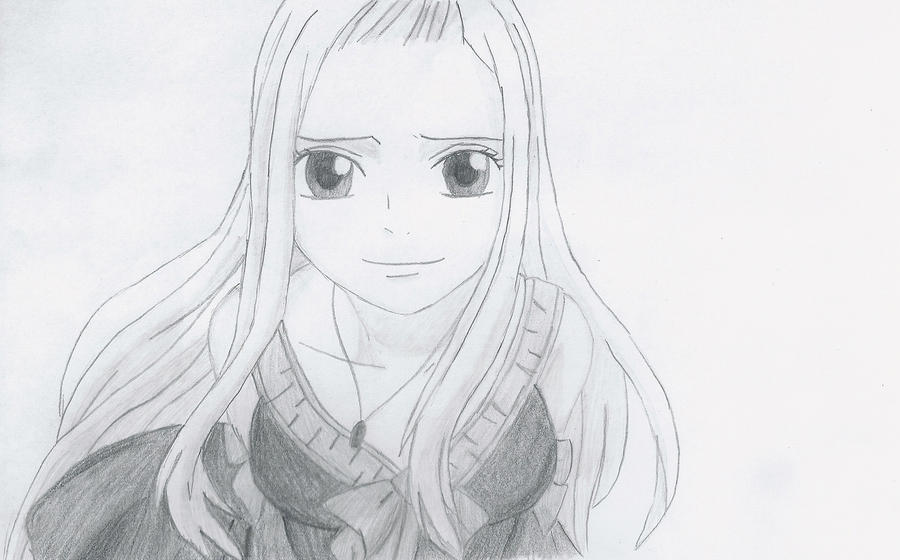 how to draw mirajane from fairy tail