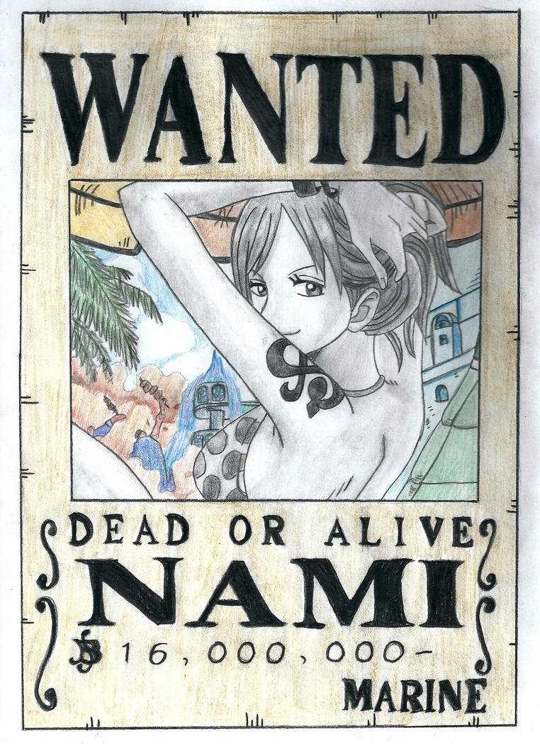 Nami One Piece Wanted | www.pixshark.com - Images ...