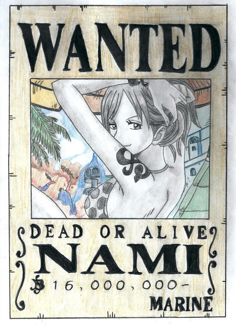 Nami One Piece Wanted | www.pixshark.com - Images ...