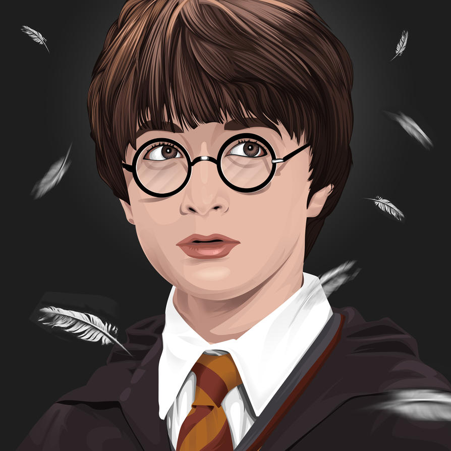 Harry Potter Vexel Art by DennyMok