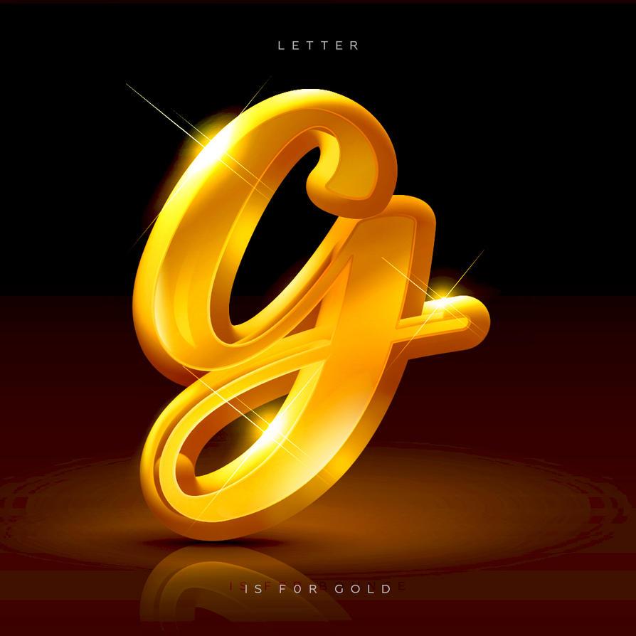 Gold Letter Effect by DennyMok