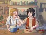 The Taste of Strawberries and Cream by AcidicGumdrops