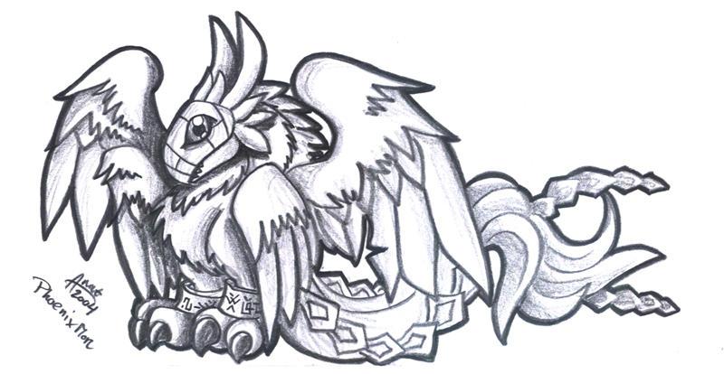 Phoenixmon Phoenixmon 2 - by gaara666 by