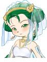 Harvest Goddess Wedding Dress by Yunii00
