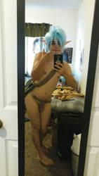 Puck Nude Cosplay by EmeraldwingCosplay