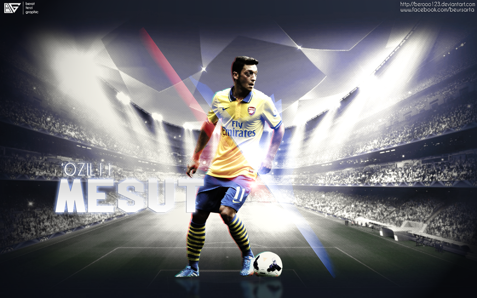 Mesut Ozil Wallpaper By Berooo123 On DeviantArt