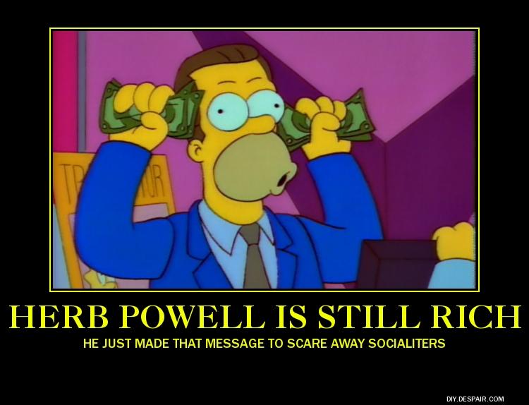 Parody Motivator:  Herb Powell is RIchie Richie! by SilverZeo