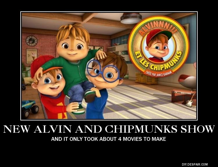 Parody Motivator: New Alvin and the Chipmunks
