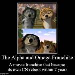 Parody DeMotivator: Alpha and Omega Franchise