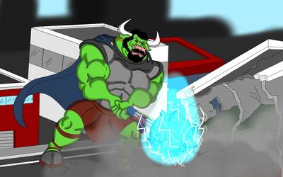 Com: Dominus Tate Smashing by Sambiglong