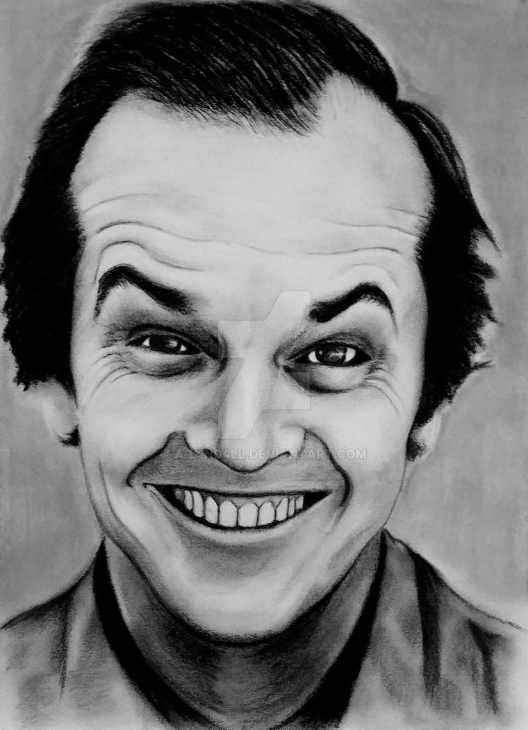 Jack Nicholson by A-L4ND4LL
